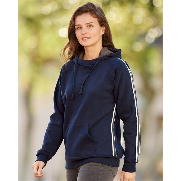 J. America Women's Rival Fleece Hooded S