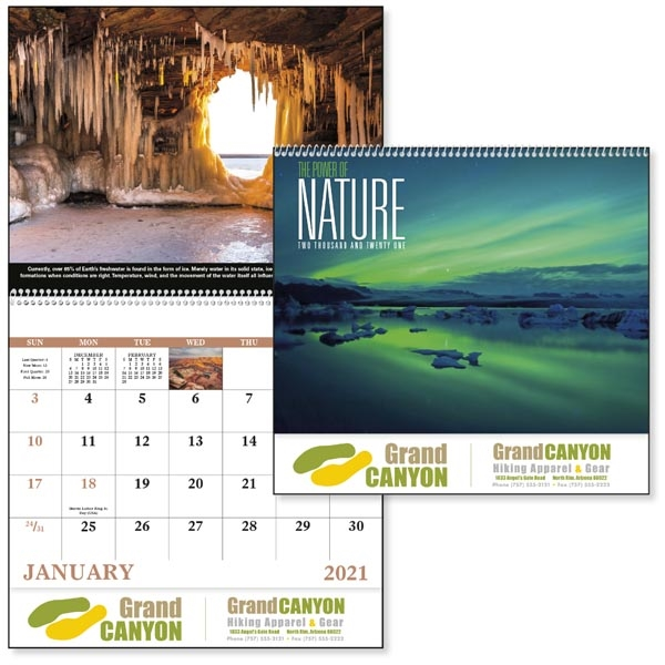 Appointment Calendar 2022.The Power Of Nature Spiral 2022 Appointment Calendar Leaderpromos