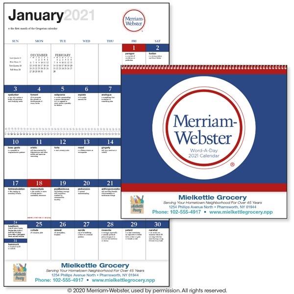 Word-A-Day Calendar