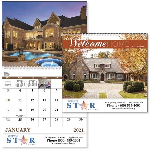 Welcome Home - Spiral Calendar 2022