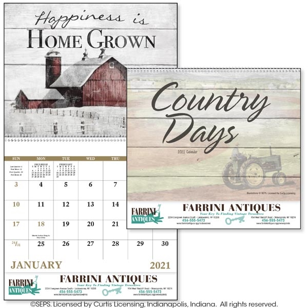 Good Value® Country Days Calendar