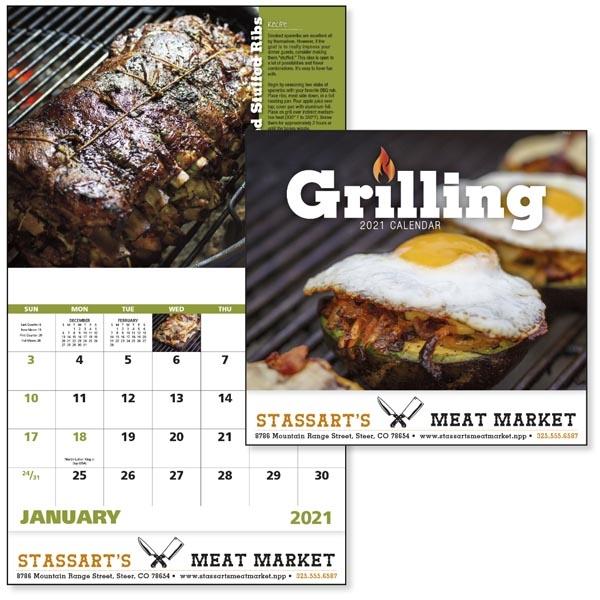 Stapled Grilling 2021 Calendar