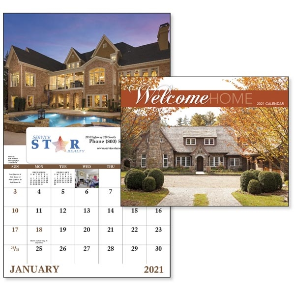 Window Welcome Home Lifestyle 2021 Appointment Calendar