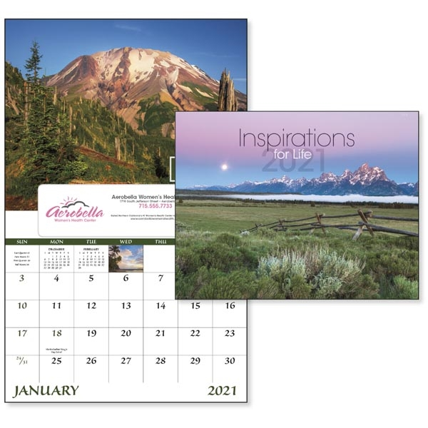 Window Inspirations for Life 2022 Appointment Calendar