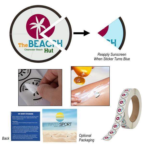 Sunburn Alert Multiple Day Event Sticker