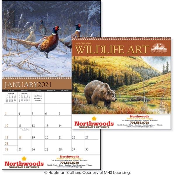 Wildlife Art 2022 Calendar