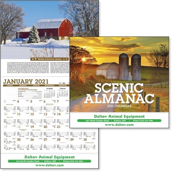Scenic Almanac 2022 Calendar