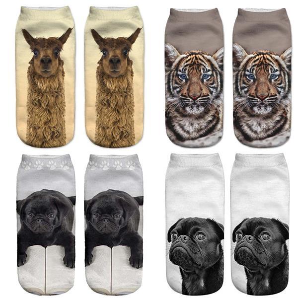 3D Digital Printed Socks