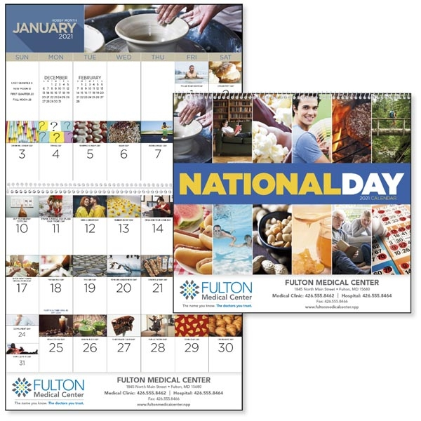 Spiral National Day 2021 Calendar