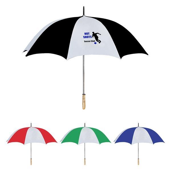 "60"" Arc Golf Umbrella With 100% RPET Canopy"