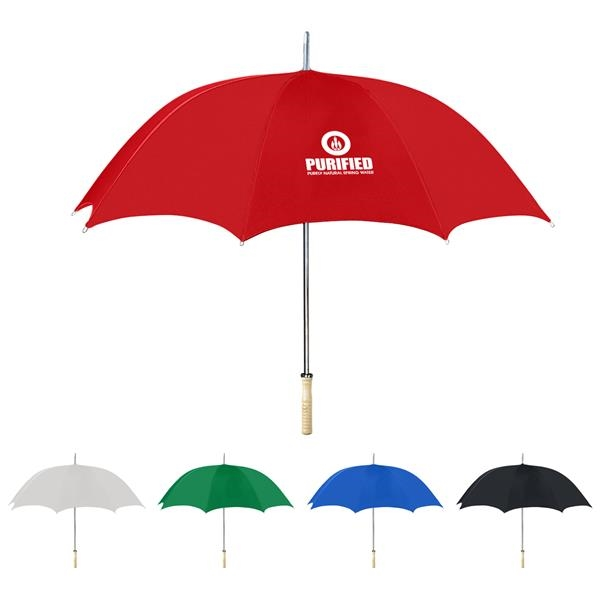"48"" ARC Umbrella With 100% RPET Canopy"