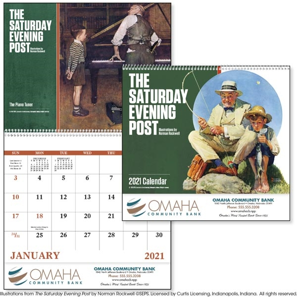 Spiral The Saturday Evening Post 2022 Appointment Calendar