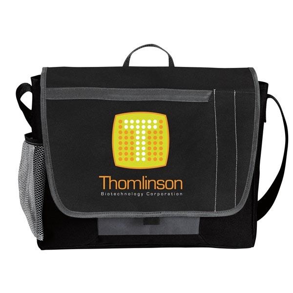 Tri-Pocket Flap Messenger