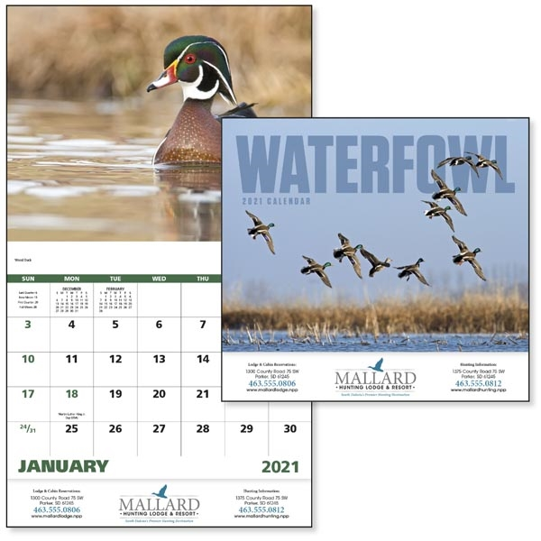 Stapled Waterfowl 2022 Appointment Calendar