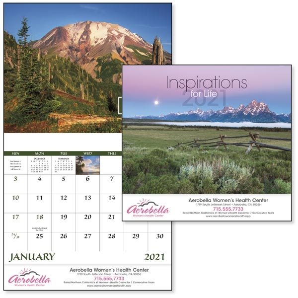 Stapled Inspirations for Life 2022 Appointment Calendar