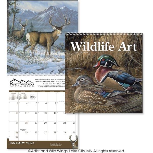 Wildlife Art 2020 Calendar