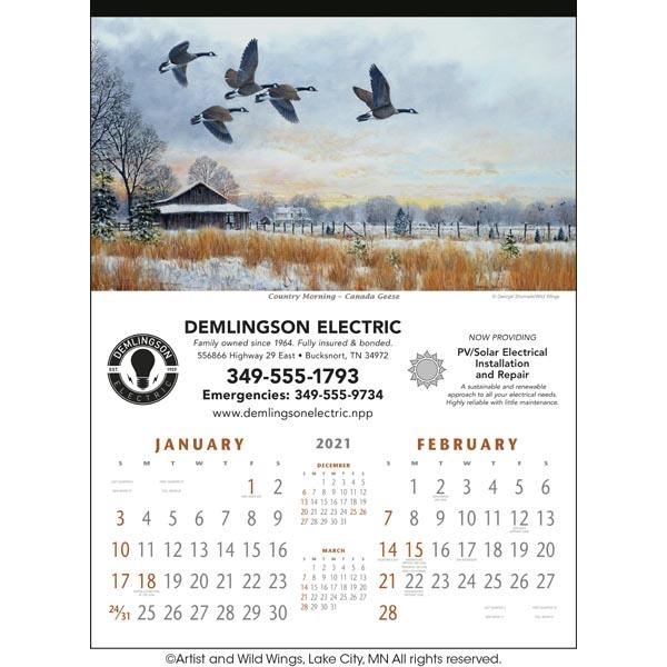 North American Waterfowl 2022 Calendar