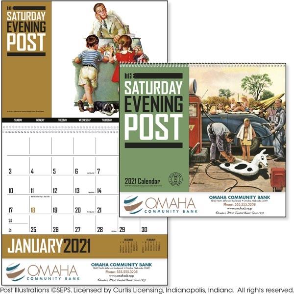 The Saturday Evening Post 2022 Calendar