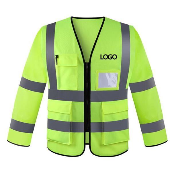High Visibility Workwear Safety Jacket