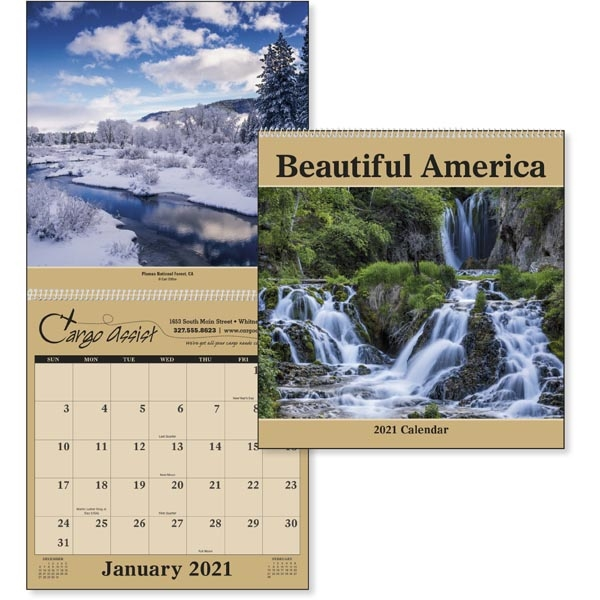 Beautiful America 2022 Calendar