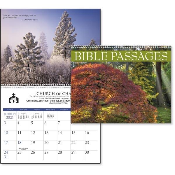 Bible Passages 2021 Calendar