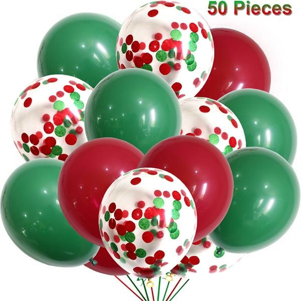 Merry Christmas Party Decorated Latex Balloon Suit