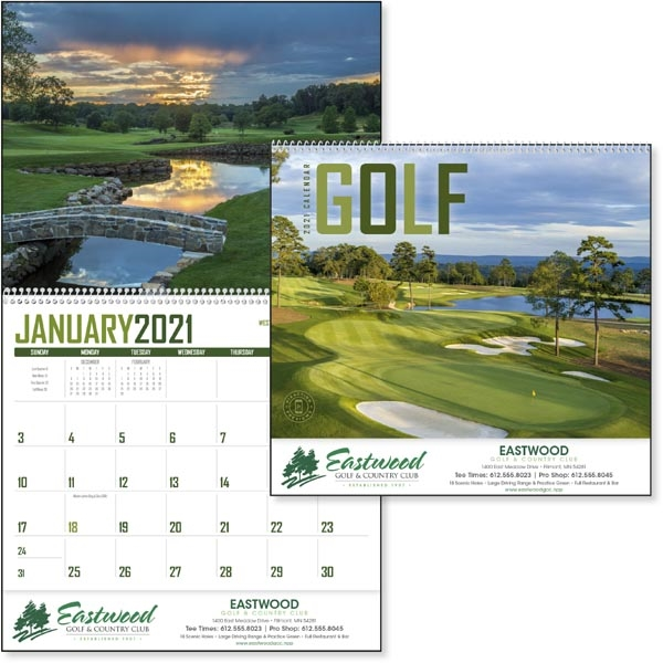 Golf 2022 Calendar