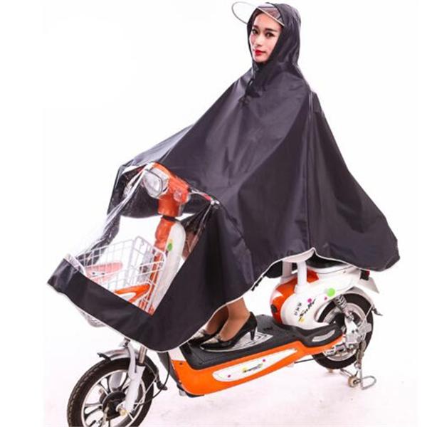 Double Motorcycle Bike Raincoat