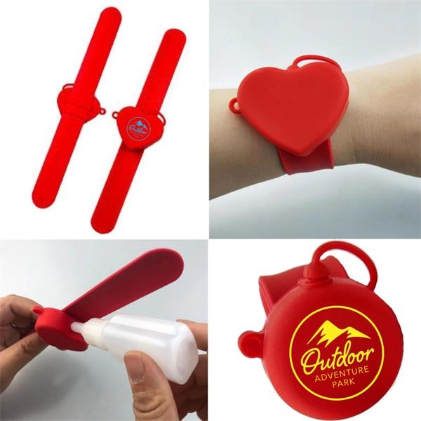 Wristband Sanitizer Holder