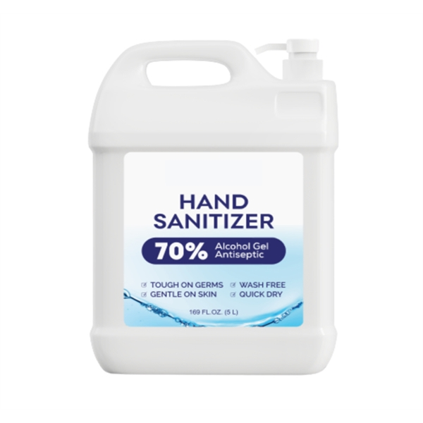 Hand Sanitizer with Alcohol, 1.3 Gallon