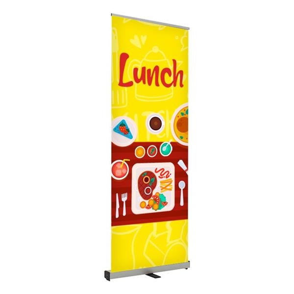 Lunch Pre Printed Roll Fx Banner 24