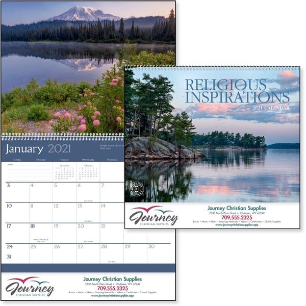 Religious Inspirations 2021 Calendar
