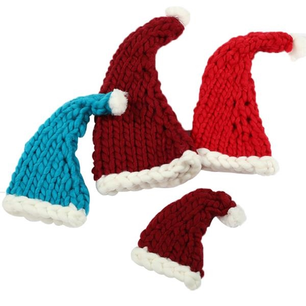 Hand-Knitted Christmas Hat
