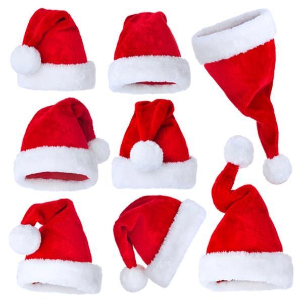 Adult Plush Christmas Hat