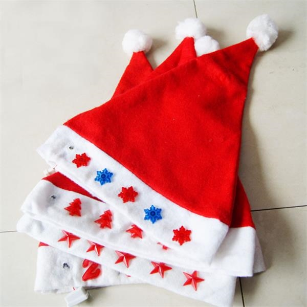 LED Luminous Star Christmas Hat