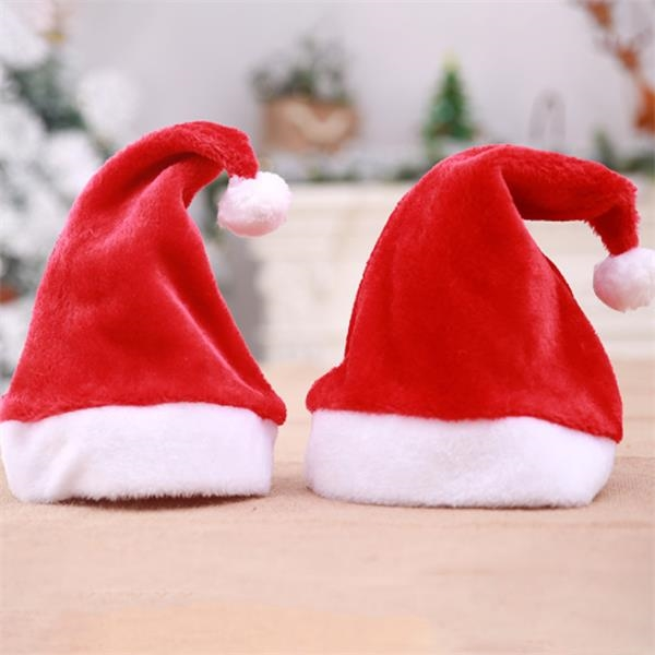 Shorthair Christmas Hat With Small Balls