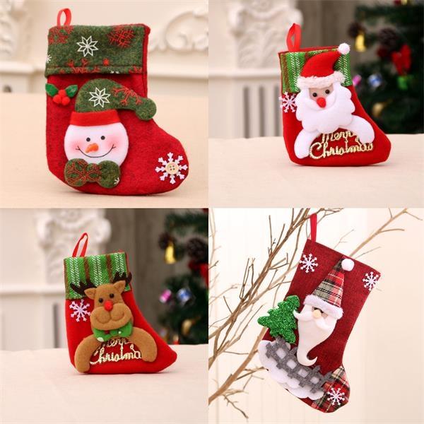 Snowflake Christmas Stocking Gift Socks
