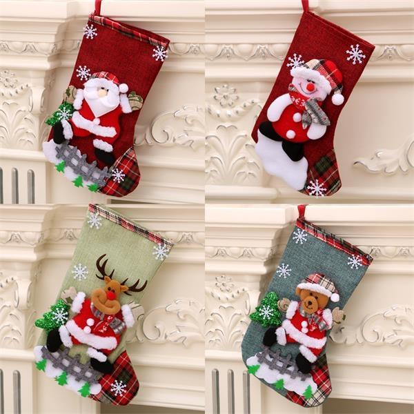 Medium Christmas Stocking Christmas Bag Gift Bag