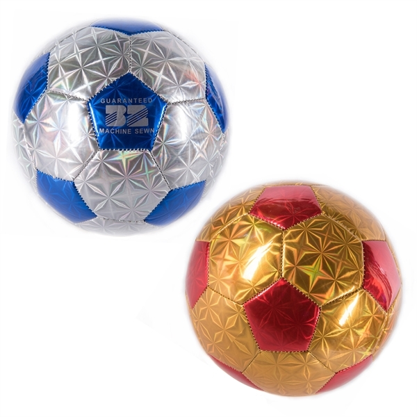 Custom Shiny Soccer Ball