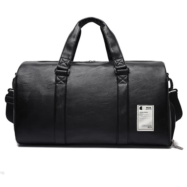 Travel Duffel Bag Waterproof Tote Leather Bag Luggage Carry