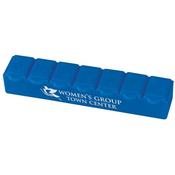 7-Day Strip Pill Box