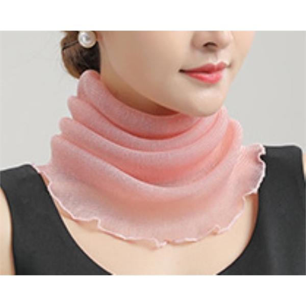 Bib women hood thin sunscreen veil new small silk scarf