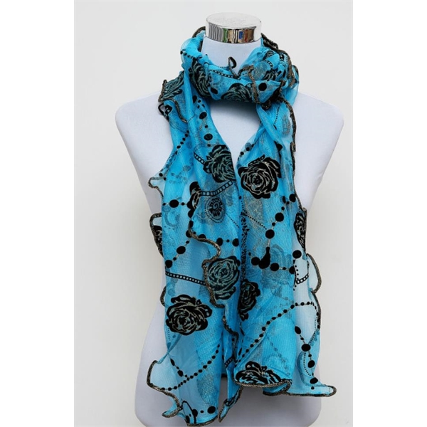 Spring and summer new silk scarf simple fashion women access