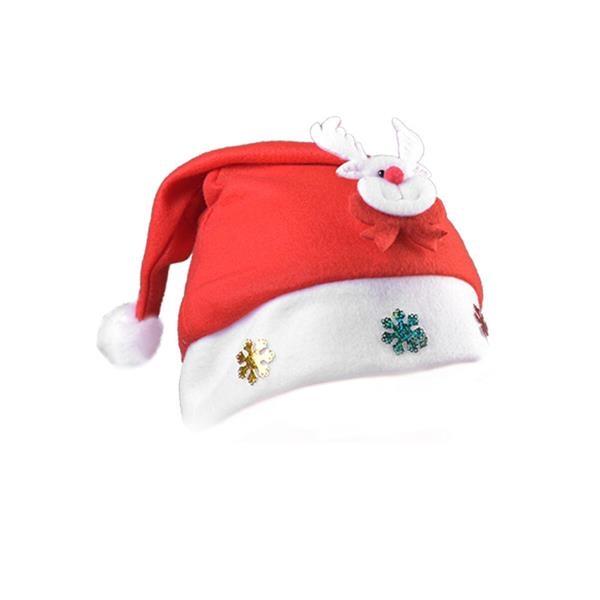 Cartoon Head Christmas Hat