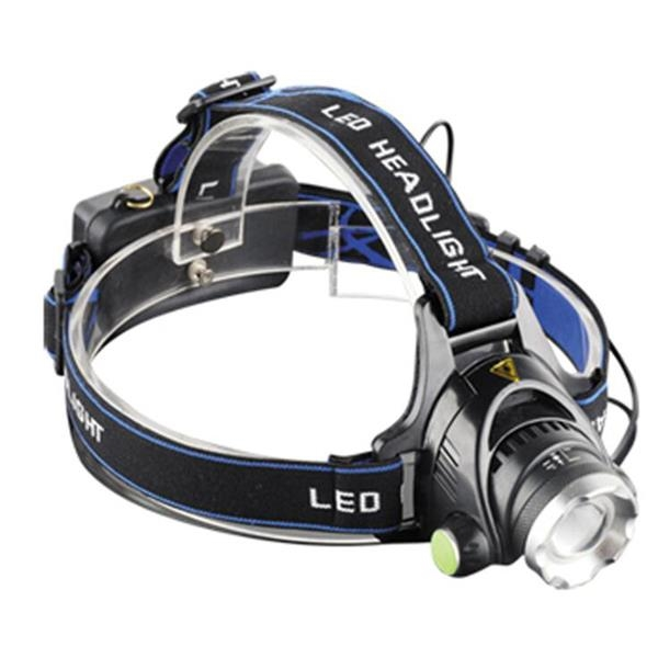 Rechargeable Headlamp with Battery & Charger