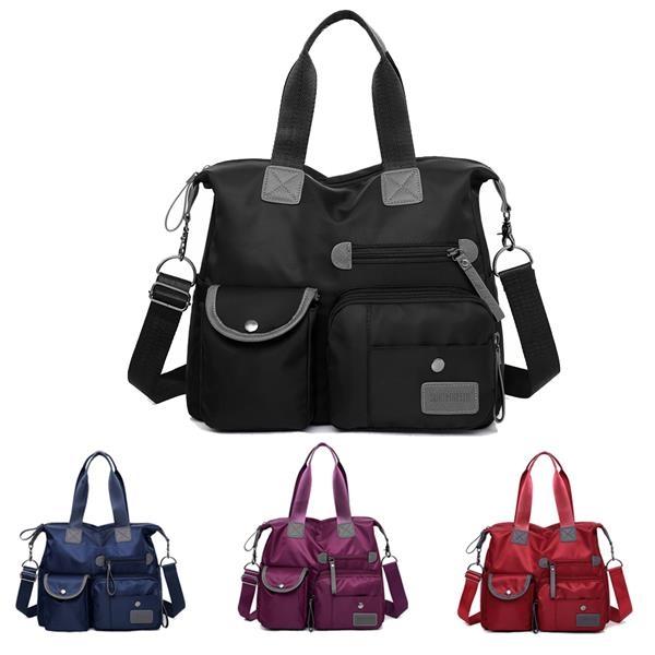 Multi-Pocket Tote Bag