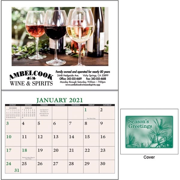 Home Recipe 2022 Calendar