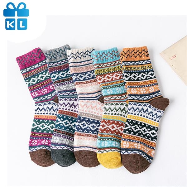 Lengthen And Thicken Rabbit Wool Socks