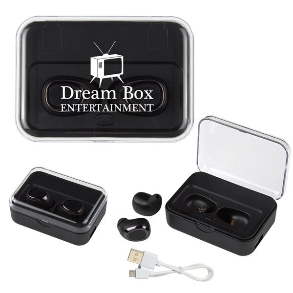 2-IN-1 Wireless Earbuds With Ul Listed P