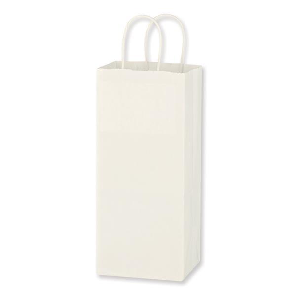 Kraft Paper White Wine Bag - 5.25